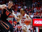 Utah rolls past Oregon State 80-69