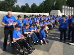 Photos: Honor Flight Veterans visit WWII Memorial