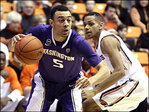 Washington Huskies down OSU Beavers 86-62