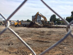 Crews at work on Whole Foods site in Eugene