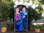 Arta Potties: Organization brings decorated outhouses to downtown Salem