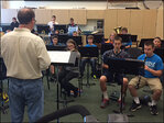 'The grant brings as much music to kids... as possible'