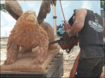 2nd Chainsaw Art Fest: 'In the end it's such a refined work'