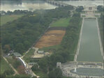 Artist uses National Mall as his personal canvas