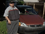 Father chases thief to get daughter's car back