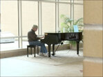 Hospital pianist raises money, spirits