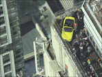 How'd they get a Ford Mustang atop the Empire State Building?