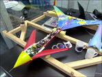 The first 3-D printed rocket powered plane