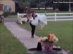 Wedding day bloopers