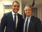 Jon Stewart voices support of embattled 'Daily Show' heir