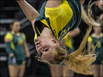 Oregon Acro and Tumbling team wins 26th consecutive meet