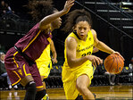 Oregon women closer to playoffs with 98-90 win over Arizona St.