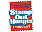 Letter Carriers Stamp Out Hunger Food Drive