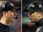 Family affair: Harbaughs gather for 49ers-Ravens