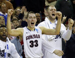 Gonzaga men back to Sweet 16 after 87-68 win over Iowa