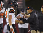 Which QB will No. 20 Utah choose for Oregon State?