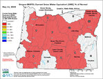 Oregon mountain snowpack lowest since 1992