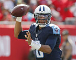 Mariota throws 4 TDs, outplays Winston, Titans rout Bucs
