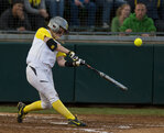 Softball: Ducks rally in Super Regional Game 1
