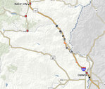Oregon wildfires close 170-mile stretch of interstate