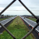 Work begins to install median barriers on dangerous stretch of I-5