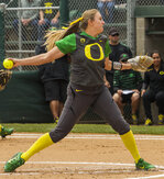 Softball: Pitcher Karissa Hovinga takes down NDSU Bison