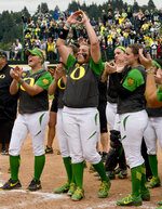 Softball: Ducks advance to the College World Series in OKC