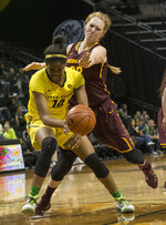 Women's basketball: Sun Devils burn Ducks, 72-51