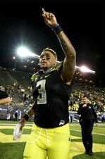 Helfrich ducks QB's finger: 'The best guy for us will be out there playing'