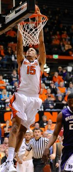Beavers race out to 20 point lead and hold off Huskies to win
