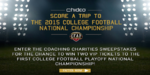 College Football National Championship Experience
