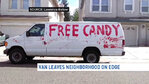 Creepy van with 'Free Candy' written on it makes Calif. residents uneasy