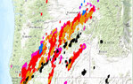 Lightning puts Douglas County on alert for wildfires