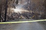 Photos: Stouts Fire leaves behind blackened hillsides