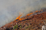 Cable Crossing Fire remains stable over night at 1,110 acres