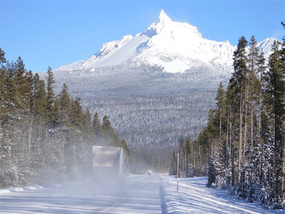 Photos: What winter driving in Oregon can look like