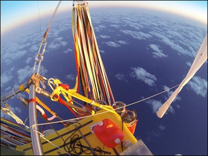 Pilots in helium-filled balloon land safely in Mexico