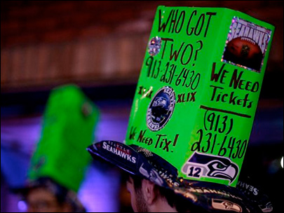 Lowest prices on last-minute Super Bowl tickets near $9,000