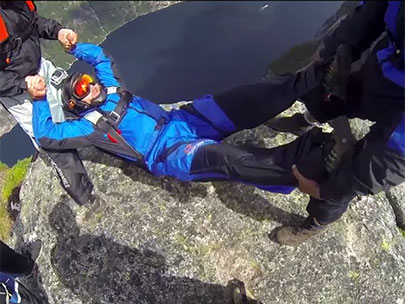 Oregonian thrown off 3,000-foot cliff - for fun