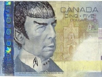 Canadians 'Spocking' the image of ex-minister on $5 bill