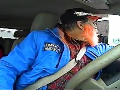 'Can I get a fish sandwich?' Traffic reporter caught on air in drive-thru lane
