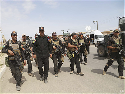 Iraq declares victory over Islamic State group in Tikrit