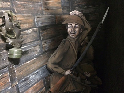 Dioramas take shape at new military museum in Florence