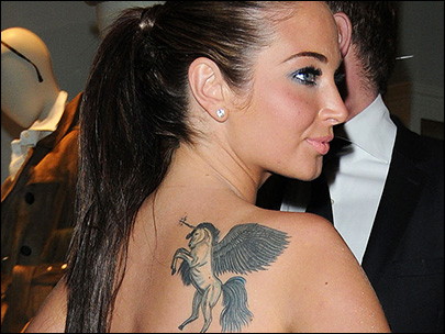 Photos: Stars' tattoos range from discreet to 'what was she thinking?'