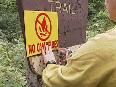 Campfire ban in place at many Oregon State Parks