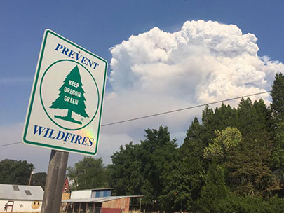 Sheriff orders evacuations as wildfire grows