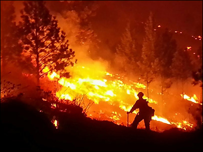 Okanogan wildfire grows 22 sq. miles amid worries of high winds