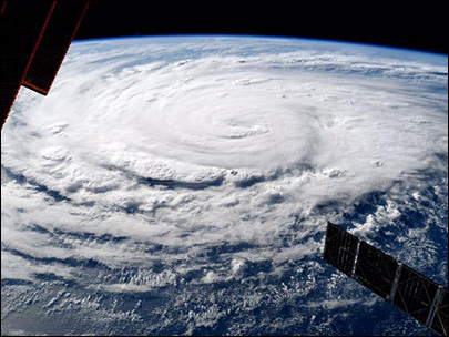 Photos: Dramatic images of record hurricane activity in Pacific Ocean