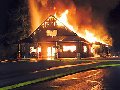 'Devastated by this terrible loss': Fire destroys golf clubhouse