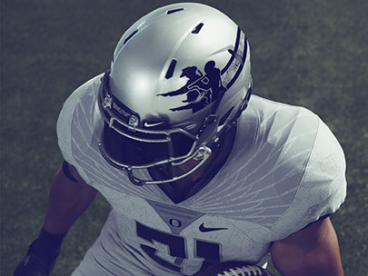 Duck uniforms feature Lewis and Clark, the Oregon Trail